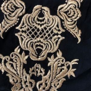 Lovers + Friends Tops - NWT Lovers + Friends Bustier Gold Embroidery